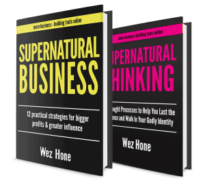 Supernatural Business Supernatural Thinking Wez Hone Books